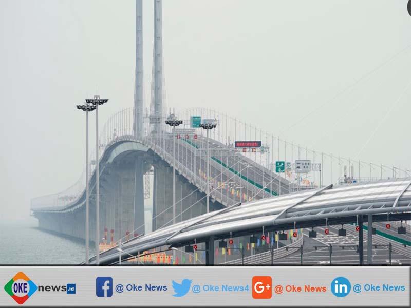 China Membuat Jembatan Terbesar Di Dunia