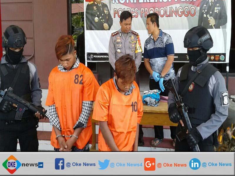 Polisi Ringkus Pelaku Pembunuhan Di Sukapura Probolinggo