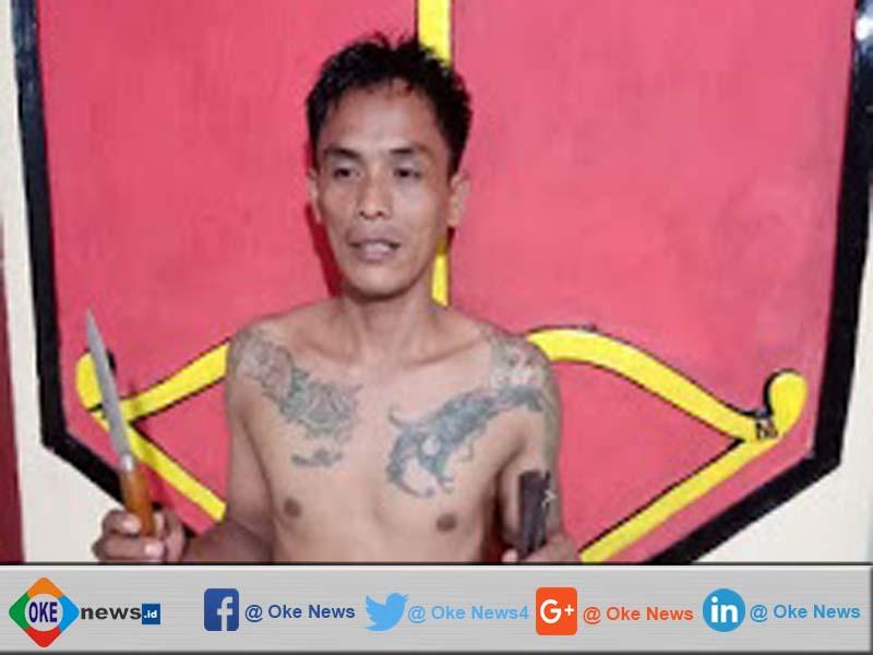 Bawa Sajam, Warga Ogan Komering Ilir Ditangkap Polisi