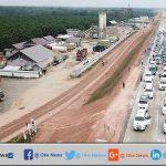 Pekerjaan Proyek Tol Trans Sumatera Belum Selesai