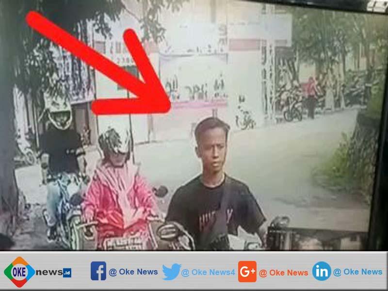 Pelaku Pencurian Motor Di IAIN Pamekasan Terekam CCTV