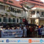 Tolak AMP, Warga Kota Malang Gelar Aksi Demo