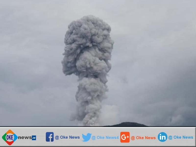 Enam Desa Kena Dampak Erupsi Dan Vulkanik Gunung Api Ibu Halmahera Barat