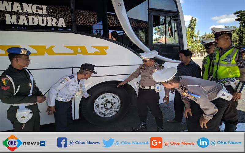 Polisi Periksa Armada Bus Di Pamekasan